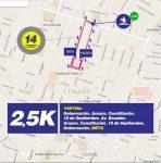 2.5km corrida mindep chillan