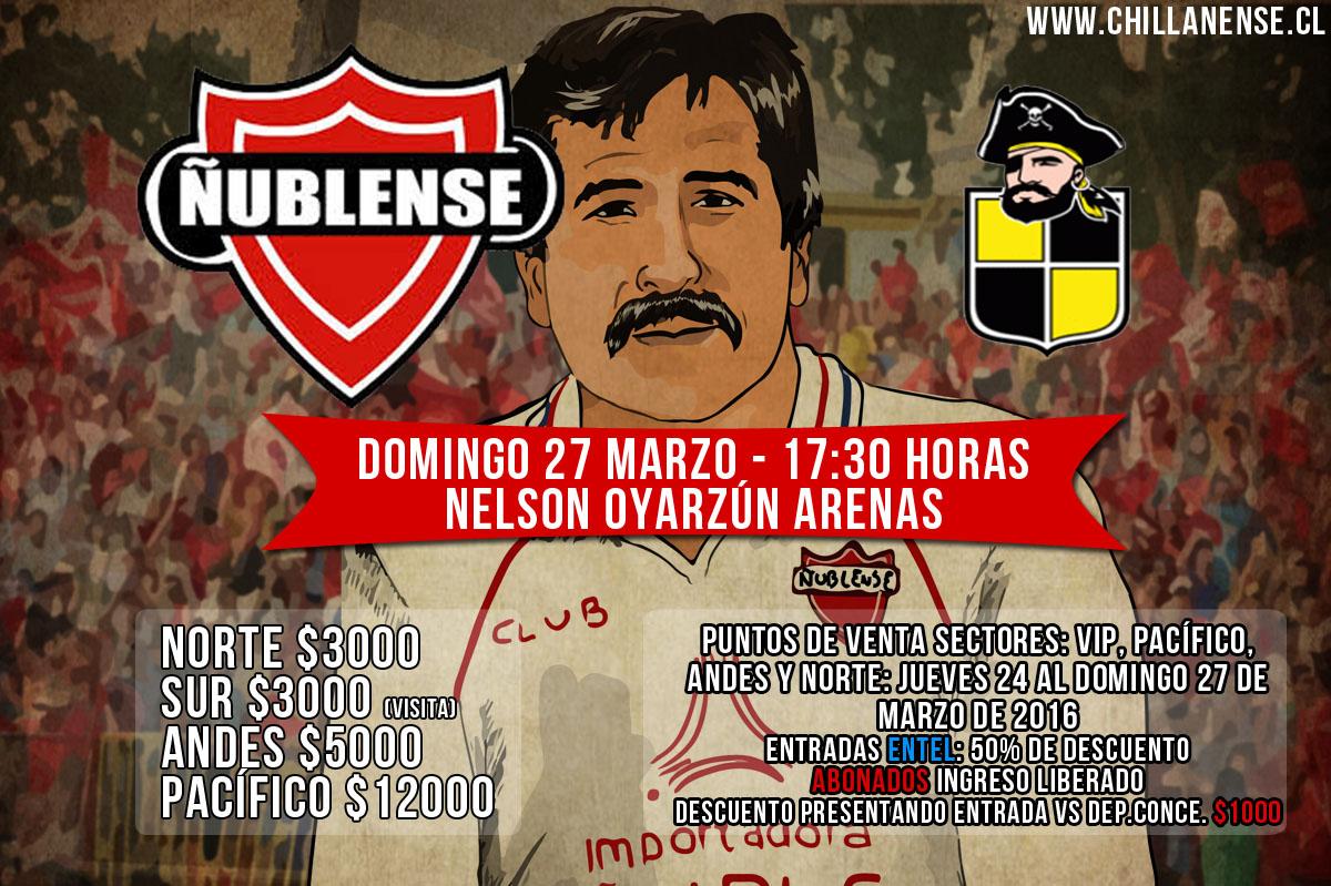 Entradas Ñublense vs Coquimbo